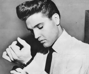 Elvis Presley, elvis, and vintage image