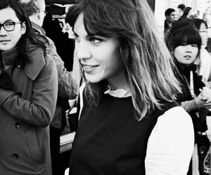 alexa chung, black and white, and model image