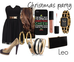 astrology, black, and Christmas party image