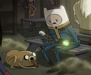adventure time and fallout image
