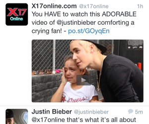 adorable, cry, and justin bieber image