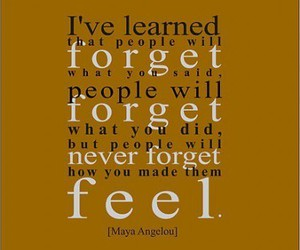 quote, forget, and feel image