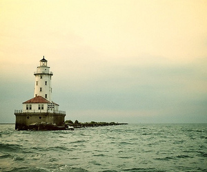 lighthouse and ocean image