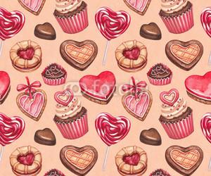 chocolate, Cookies, and corazon image