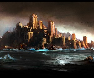 art, prince of persia, and island of time image