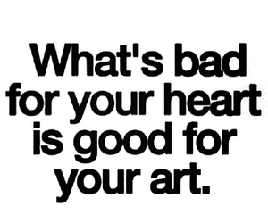 art, heart, and good image