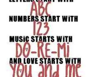love, quote, and ABC image