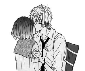 I Love You, kawaii, and manga girl image