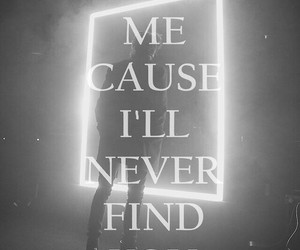 the 1975, she way out, and Lyrics image