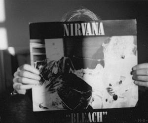 nirvana, bleach, and music image