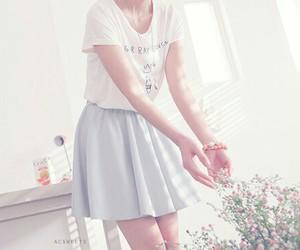 skirt and white image