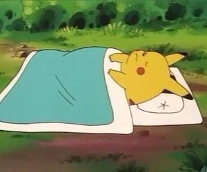 anime, pokemon, and pikachu image