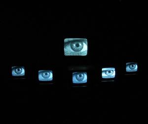 eyes, grunge, and tv image