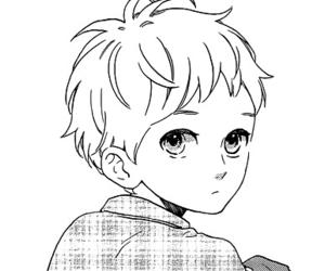 manga, mamura daiki, and monochrome image