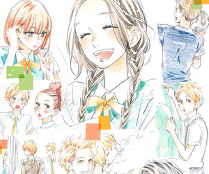 manga and hirunaka no ryuusei image