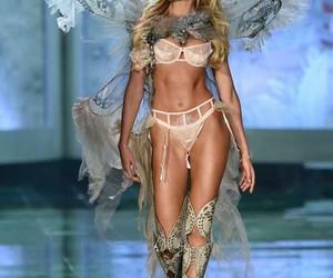 fashion, runway, and Victoria's Secret image