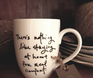 cup, home, and comfort image