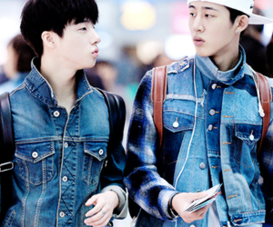 Ikon, jinhwan, and b.i image
