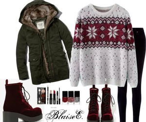 winter, fashion, and jacket image