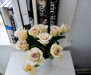 roses, flowers, and love image