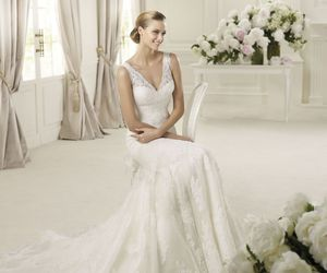 Pronovias, wedding dresses, and wedding gowns image