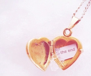 heart, the end, and end image