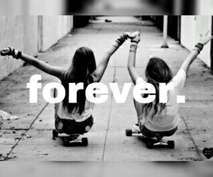forever, friends, and bff image