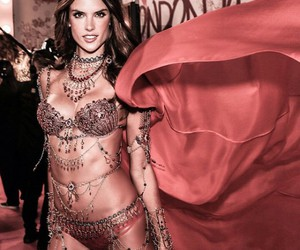 alessandra ambrosio, pink, and angels image