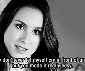 pretty little liars, cry, and spencer image