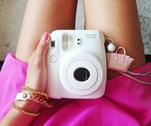 camera, instax, and instax 8 mini white image