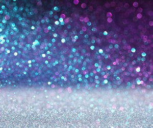 glitter, blue, and purple image