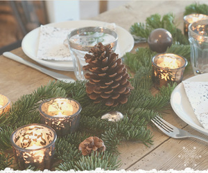 beautiful, candles, and christmas image