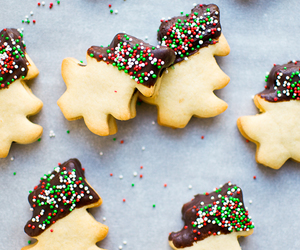 chocolate, christmas, and shortbread image