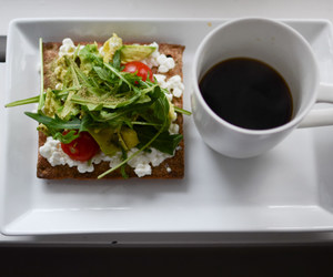 breakfast, coffee, and healthy image