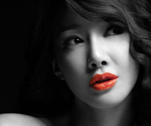 red sexy lips