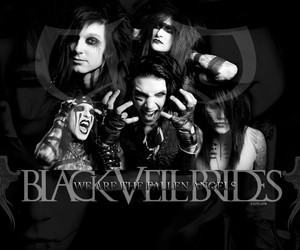 black veil brides, bvb, and andy image