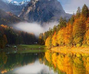 Alps, autumn, and clouds image