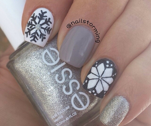 blingbling, f, and nails image