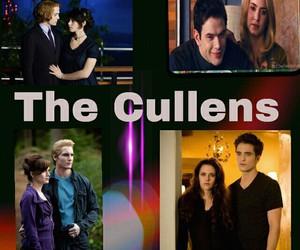 The Cullens, twilight saga, and edward bella image