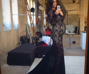 beautiful, fashion, and pregnant image