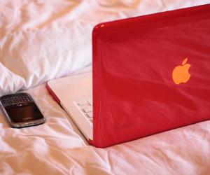 apple, blackberry, and laptop image