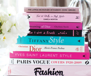 book, fashion, and dior image