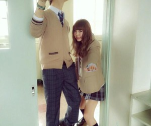 couple, funny, and japan image