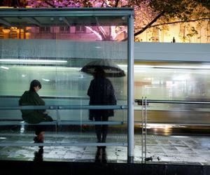 rain, grunge, and people image