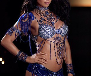 Adriana Lima, bra, and luxury image