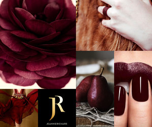 metallic, romantic, and deep red image