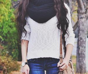 moda, ropa, and castaño image