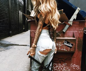 blonde, cool, and gipsy image