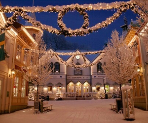 decoration, snow, and festive image