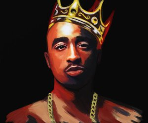 2pac, legend, and art image
